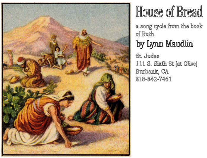 Promotional mailing for House of Bread