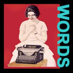 Happy typewriter image