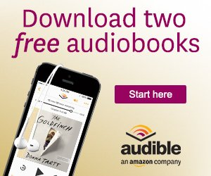 2 free books offer from Audible