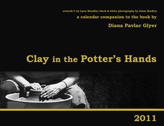 Clay calendar cover