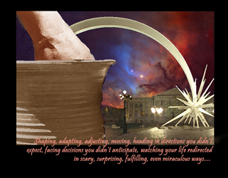 December from   the 2013 Clay in the Potter's Hands calendar