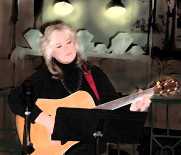 Lynn performing in San Diego