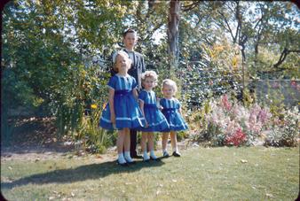 Craig, Lynn, Alicia, Dawn - matching dresses