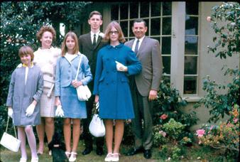 Easter Sunday family portrait