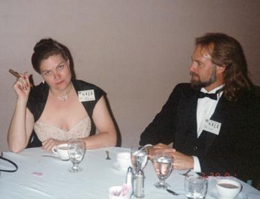 Sue Dawe and Michel Underwood