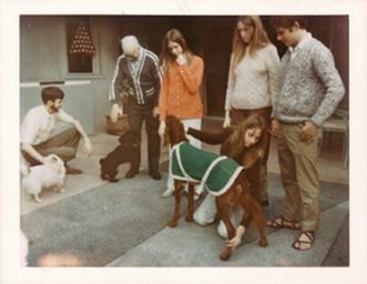 Christmas 1969 on the patio